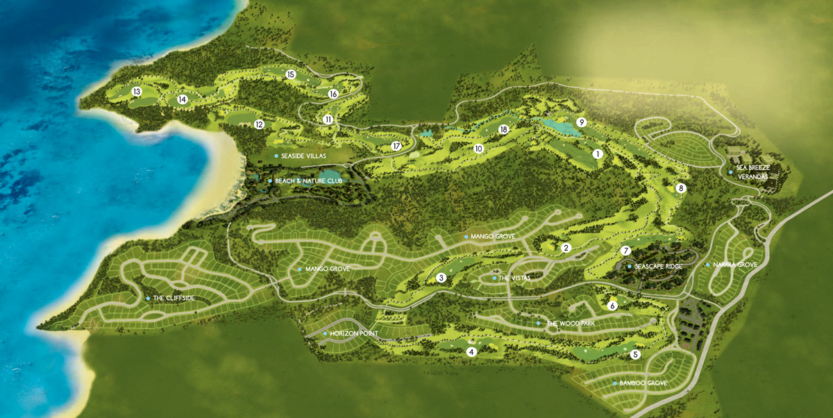 Golf & Sports Club - Golf Course Layout