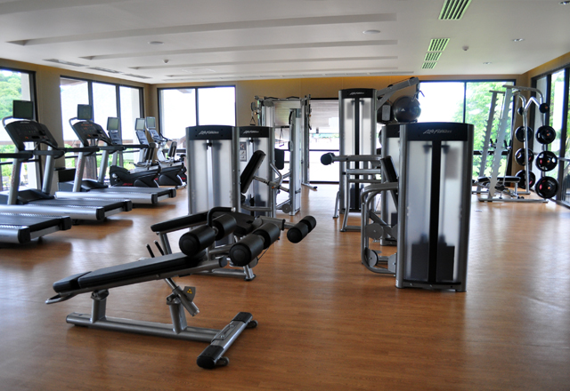 Fitness gym anvaya cove golf and sports club
