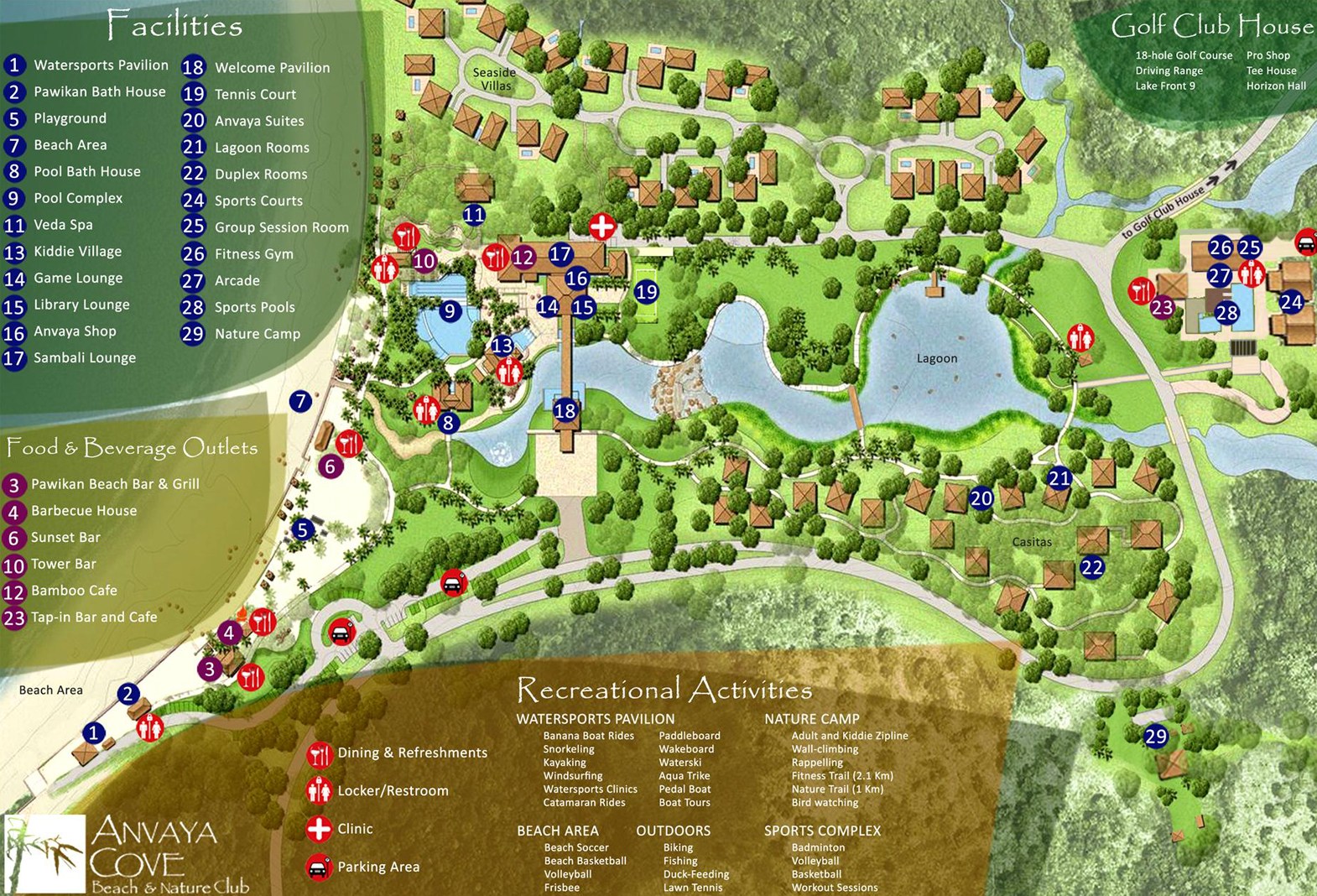 Anvaya Cove – Vicinity Map